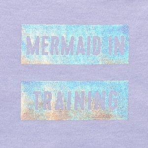 One Pieces - 💜 Mermaid In Training Tutu Graphic Bodysuit